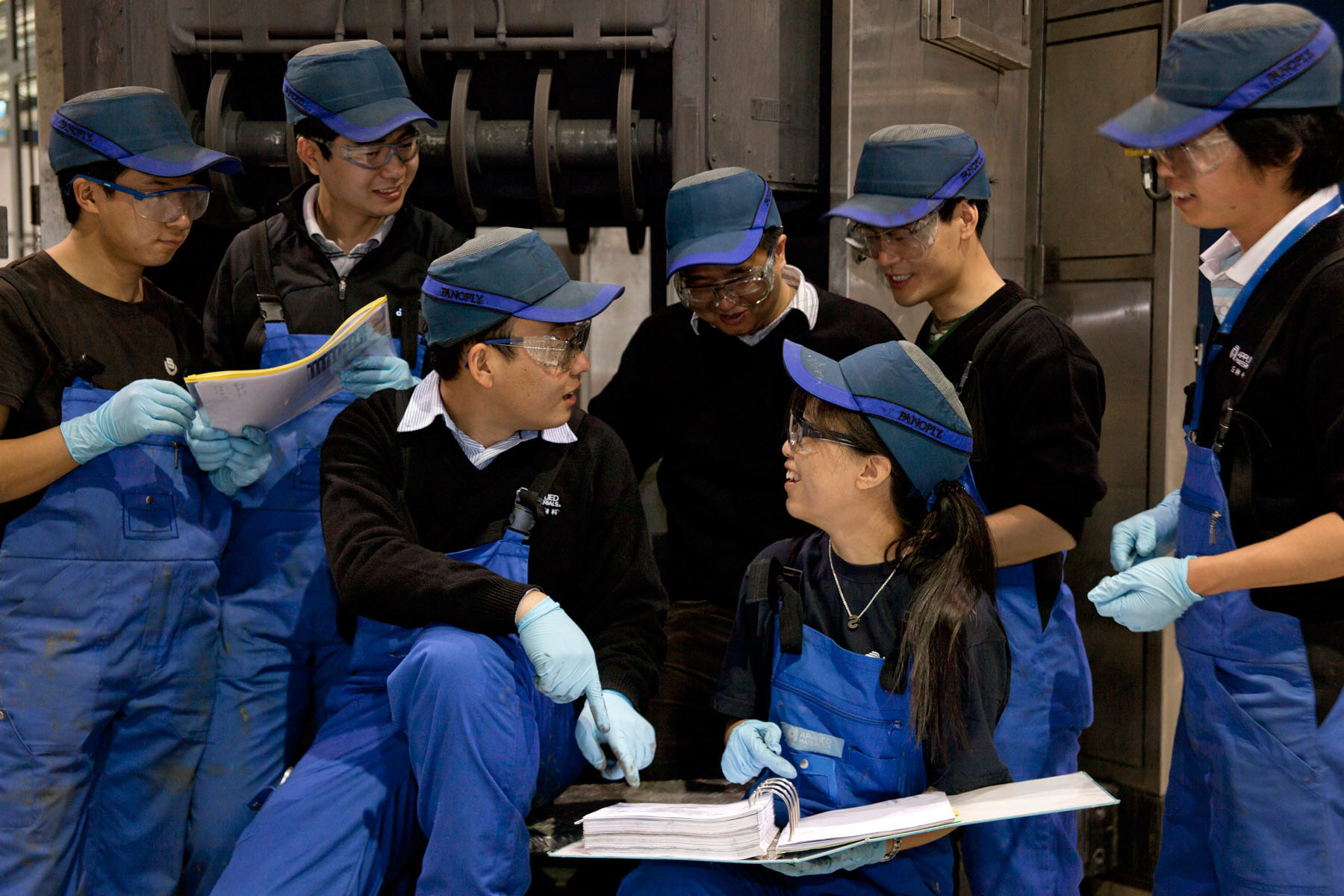 Chinese Factory Workers - Corporate Photography