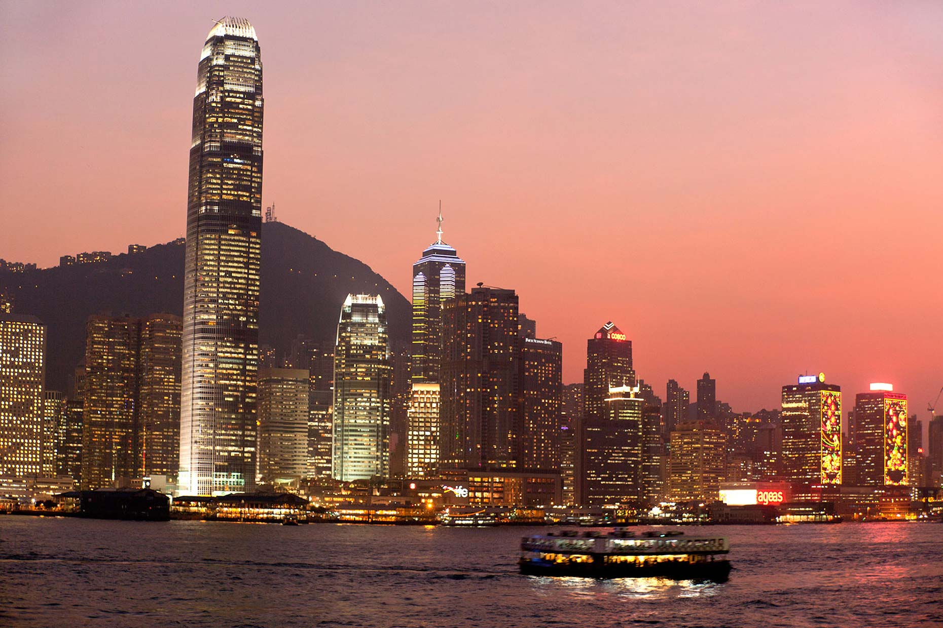 Hong-Kong-sunset-Star-Ferry