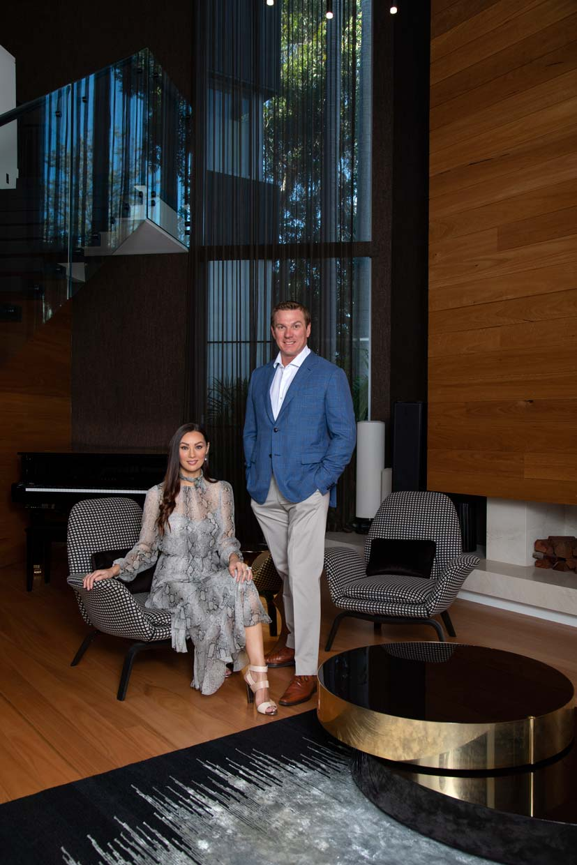 Paul and Charmaine Blackburne portrait for The Weekend Australian Magazine