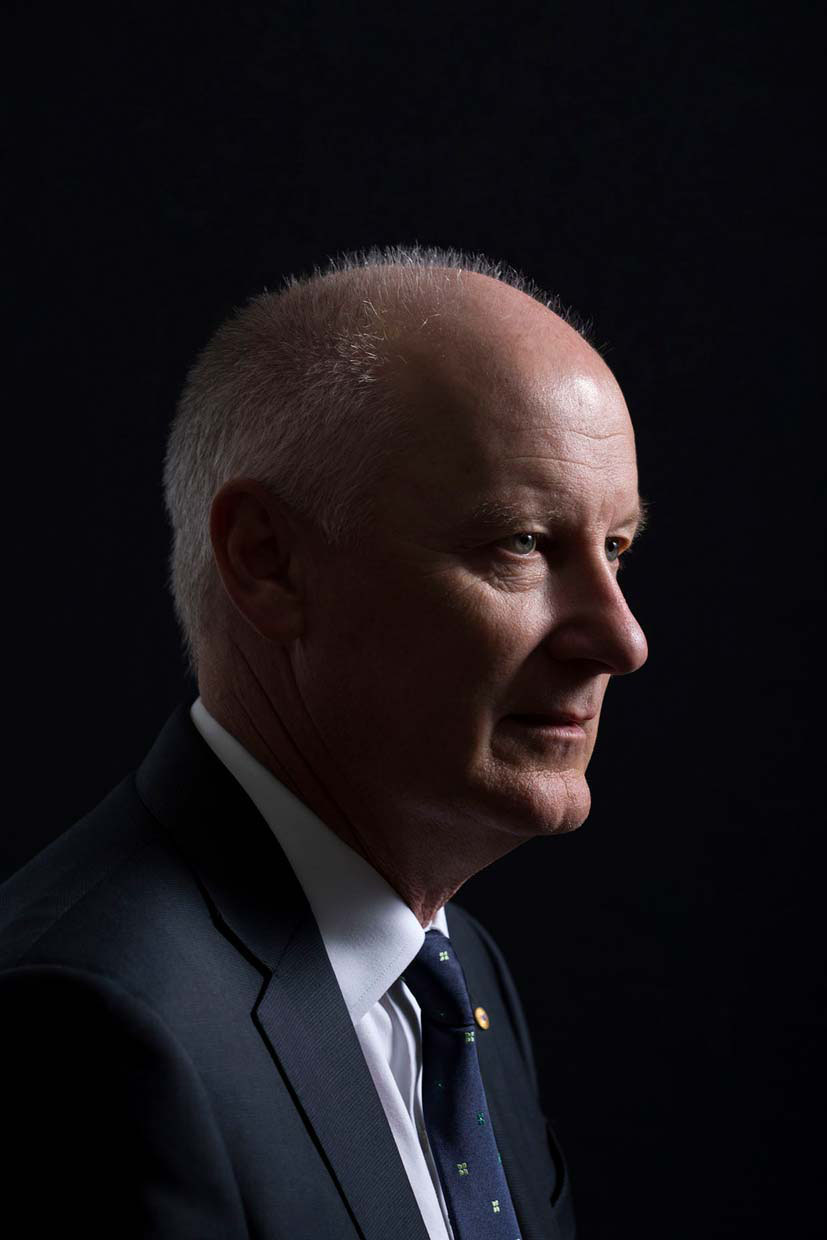 Richard Goyder AO, Chairman of both QANTAS and  Woodside