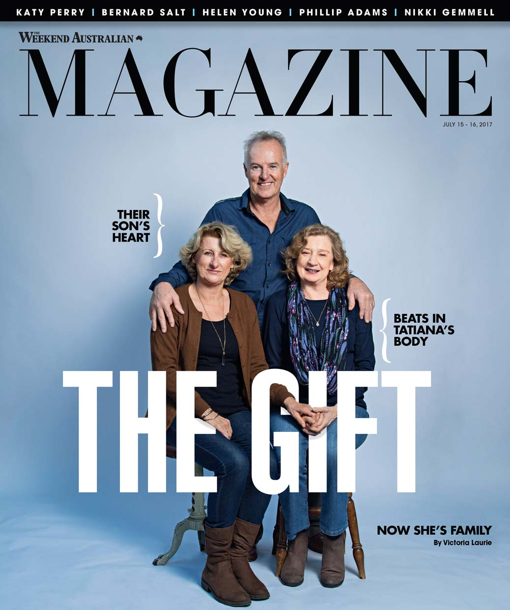 The Weekend Australian Magazine - The Gift - cover story 2017