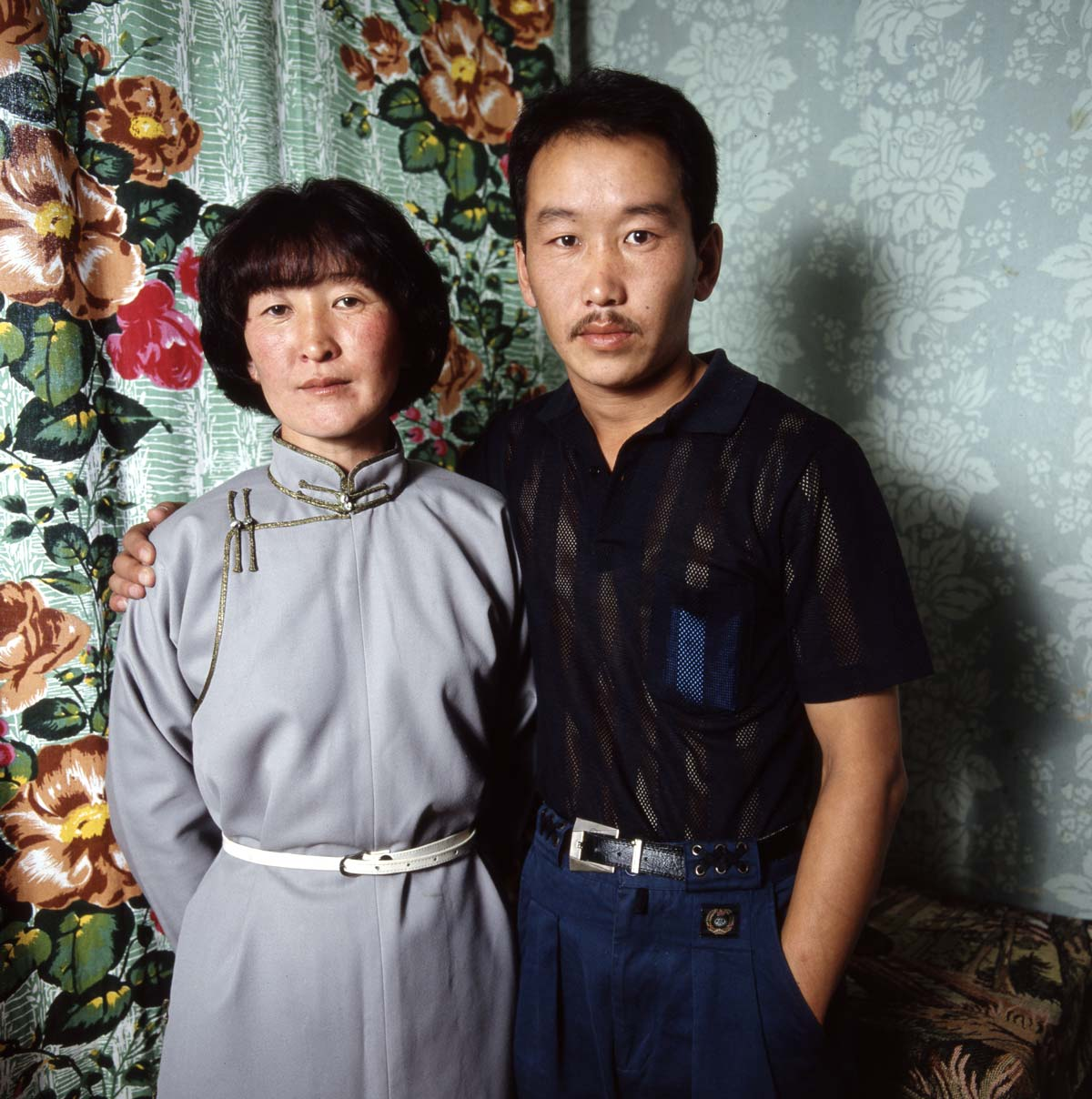 Married couple, Mongolia